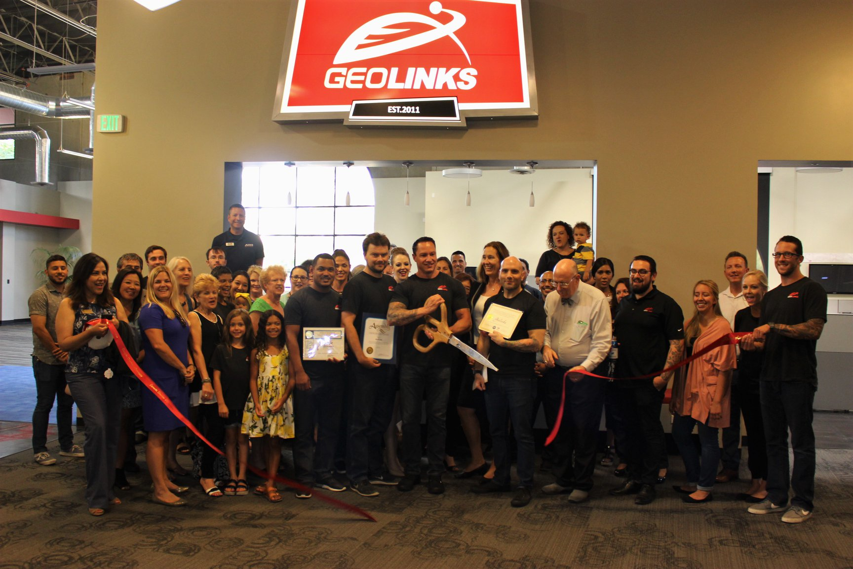 GeoLinksRibbonCutting