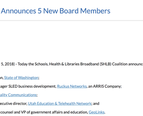 SHLB Coalition Announces 5 New Board Members – Melissa Slawson