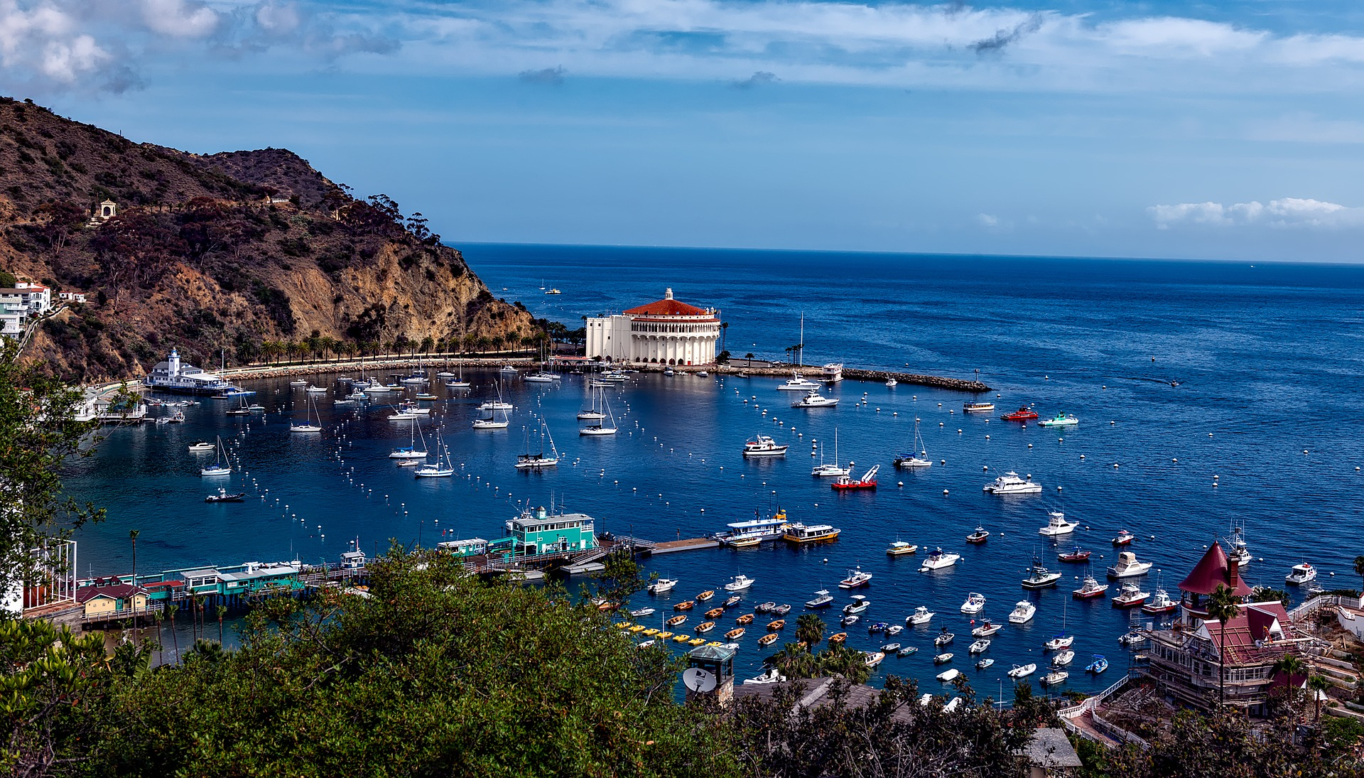 Catalina Island - Does weather affect fixed wireless?