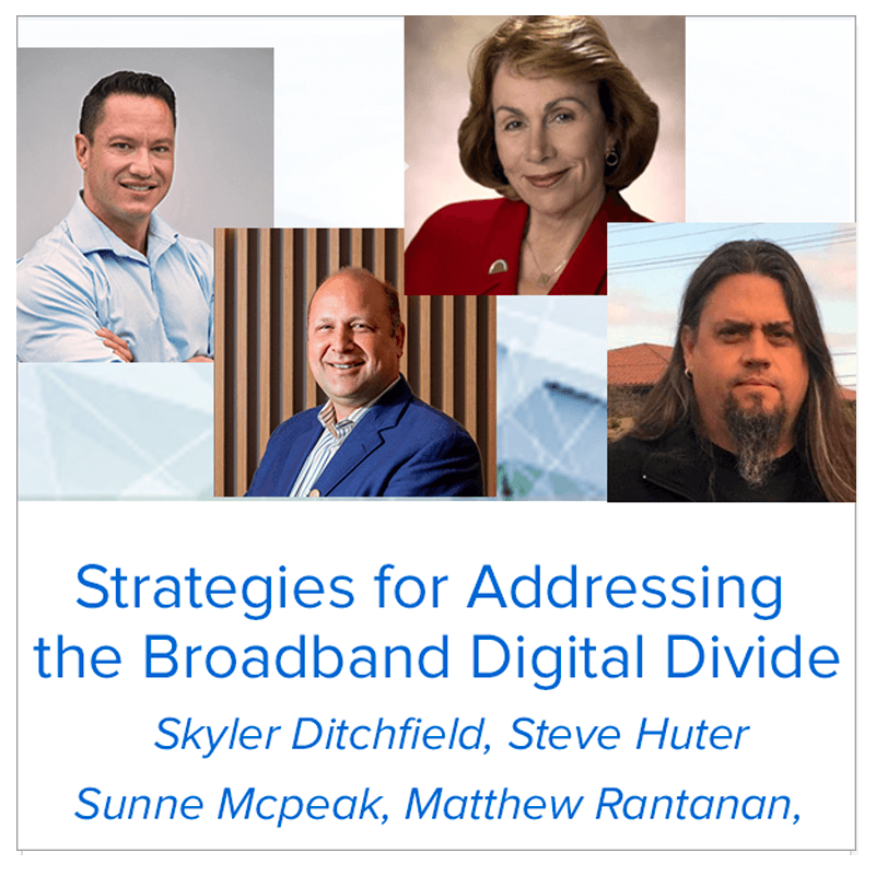 Strategies for Addressing the Broadband Digital Divide