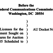 GeoLinks FCC Comments - Auction of Priority Access Licenses for the 3550-3650 MHz Band
