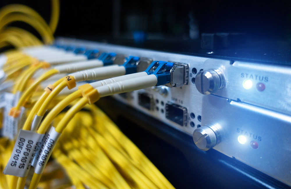 What is fiber-optic internet?